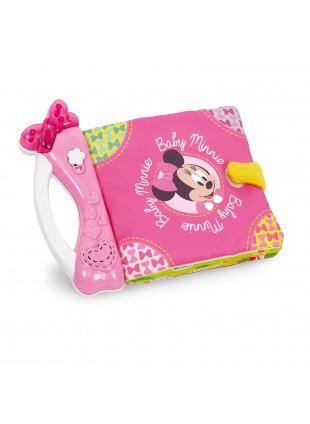 Soft Book Libro Morbido Minnie Topolina Primi Giochi Infanzia Elettronico