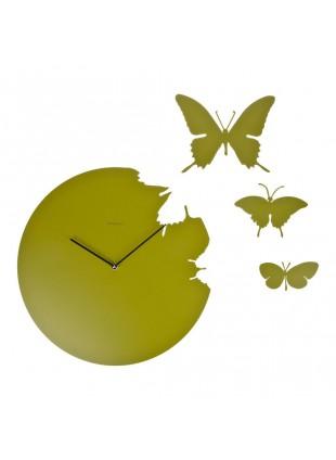 Orologio da parete butterfly diamantini & domeniconi design