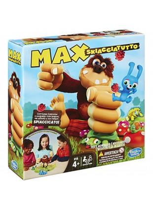 Max Schiacciatutto 2-3 Giocatori Gioco di Società Bambini Hasbro