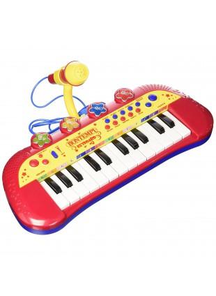 Tastiera 24 Tasti Bimbo Bimba con Microfono Giochi Strumenti Musicali