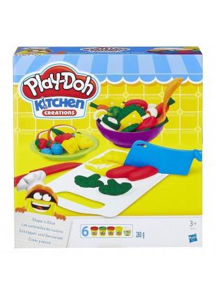 Pasta da Modellare Plastichina Play-doh Colorata Pressa Stampini per Snack Carne