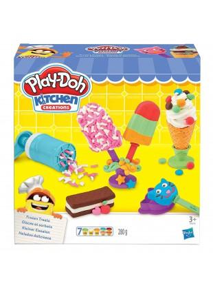 Set per Creare Gelati con Pasta da Modellare Colorata Gelati e Ghiaccioli