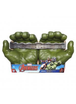 Mani Pugni di Hulk Verde Giganti in Gommapiuma Morbidi Marvel
