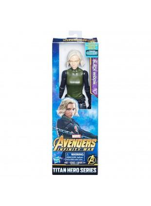 Pupazzetto Personaggio Black Widow Vedova Nera Avengers Marvel Hasbro 30 cm