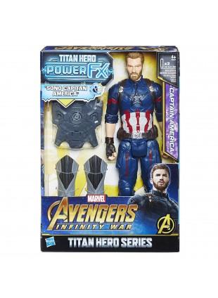 Capitan America Hasbro Titan Hero Series Personaggi