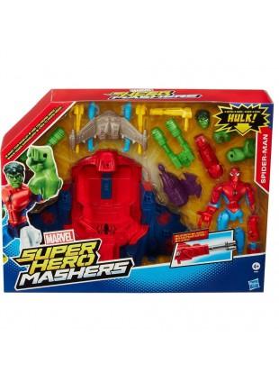 Spider Hero Marvel Superoi Jet Maschers Hasbro Gioco Spider Man