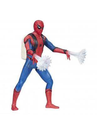 Hasbro Marvel Spider-Man Homecoming Feature Figure 15,2 cm Ragnatela Articolato