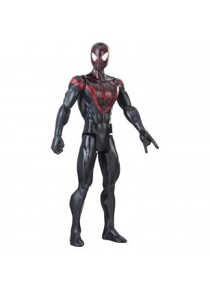 Hasbro Marvel Spiderman Figurine Titan Kid Arachnid 30 cm e2346 Colore Nero