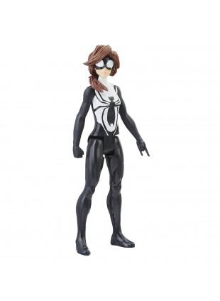 Hasbro Marvel Spiderman Figurine Titan Spider Armatura 30 cm suoni e frasi