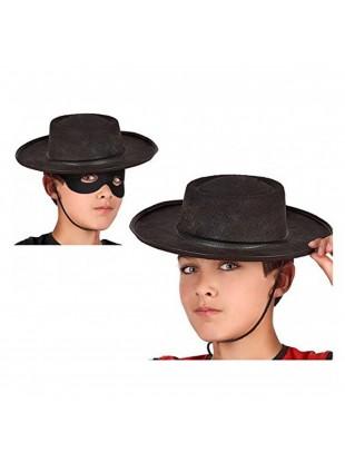 Cappello Cordoba Colore Nero Taglia Unica Da Bambino Festa Carnevale Atosa 48906