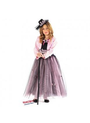 Costume Vestito di Carnevale Miss Butterfly Taglia 4 Anni Da Bambina Festa 51135