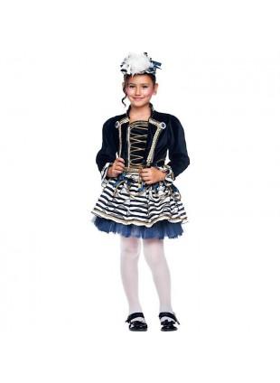 Costume Vestito di Carnevale Marinaretta Marinaia Taglia 6 Anni Bambina 50729