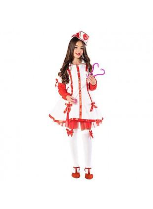 Costume Vestito di Carnevale Crocerossina Baby Taglia 6 Anni Bimba Bambina 51131