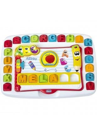 Chicco Banco Scuola Bambini Elettronico Parlante Impara le Lettere dell'Alfabeto