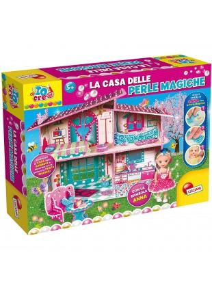 Liscianigiochi-Io Creo la Casa delle Bambole Perle Magiche Multicolore 68852
