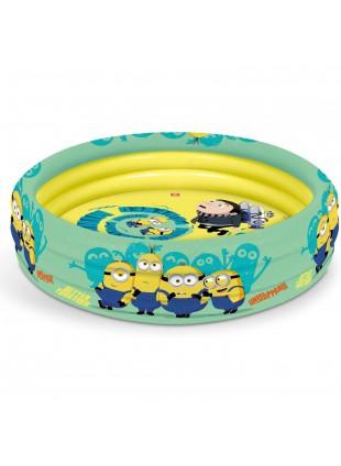 Mondo Toys - Minions | 3 Rings Pool Piscina gonfiabile per bambini 3 anelli