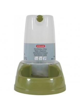 Distributore acqua e cibo antisdrucciolo verde 3.5L