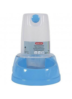 Distributore acqua e cibo antisdrucciolo azzurro 3.5L