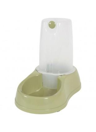 Distributore acqua e cibo antisdrucciolo verde 6.5L