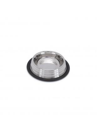 Silver Stripe Steel Bowls ciotola in acciaio 450ml 19,5cm Imac