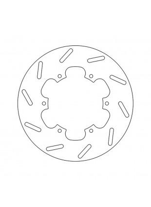 disco freno anteriore e posteriore per piaggio liberty e gilera