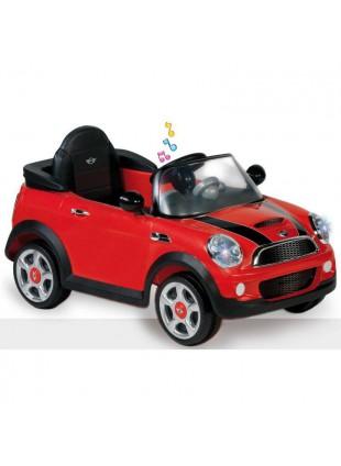 Auto elettrica bambino/bambina Mini Cooper rossa