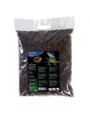 Corteccia di pino 10L ideale per serpenti e rettili tropicali terrofilia