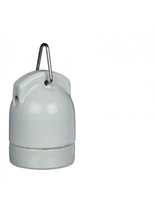 Portalampada in porcellana Pro Socket molto resistente al calore 160W E27  1.80m
