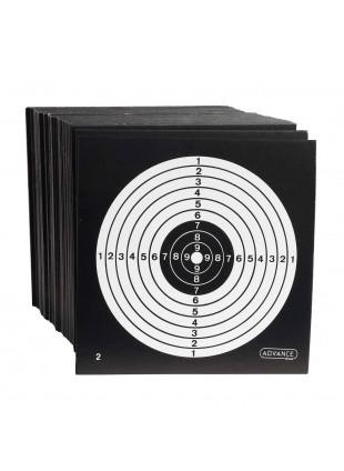 100 Pezzi Bersagli in Cartoncino per Softair 14 cm Tiro Bersaglio