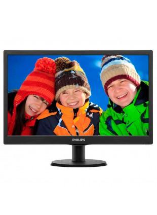 Monitor Schermo 18,5 Pollici LED PHILIPS 193V5LSB2 VGA per Videosorveglianza PC