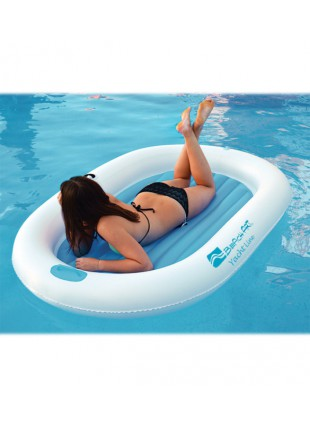 Lettino Materssino Gonfiabile Ovale Yacht Line in PVC per Barca Piscina Relax