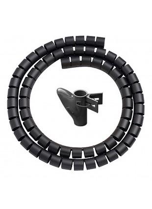 Spirale Copricavo Copri Nascondi Cavi Cavo PC Tubo Flessibile 1.5 Metri VULTECH