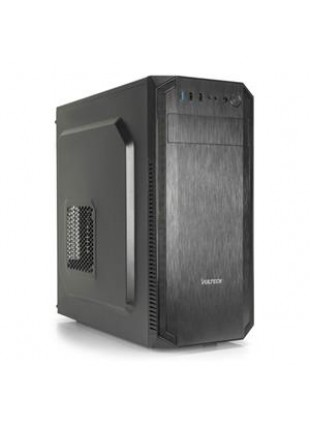 Case Middle Tower Modello GS-2421 in Lamiera Nera Alimentatore Incluso 500 W