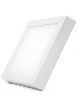 Plafoniera Faretto Pannello Soffitto Led Luce Calda 25 W Quadrato Senza Incasso