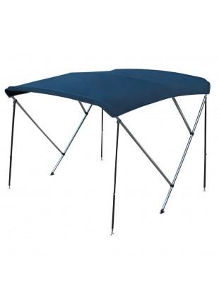 Capottina parasole Tendalino Copertura Tenda per Gommone 3 Archi 215 225 cm