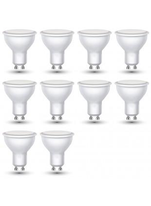 10 Lampadine Lampade a Led Attacco Gu10 V-Tac Luce Bianca Fredda 6400 K 250 Lm