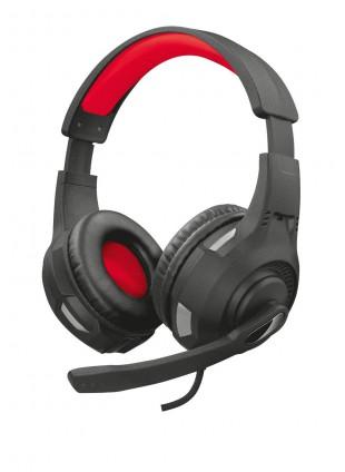 Cuffie Audio Microfono Regolabile da Gioco Trust Gaming Nero Rosso GXT 307