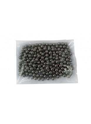 100 Pallini Piombini Sfere in Acciaio Diametro 6 mm Lucidate da Softair Sport