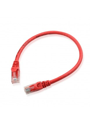 Cavetto Cavo Ethernet di Rete LAN RJ45 per PC Internet UTP Categoria 6e 25 cm