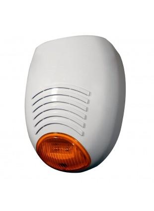 Sirena Esterna Antifurto Autoalimentata Lampeggiante a LED AMC Elettronica SR136