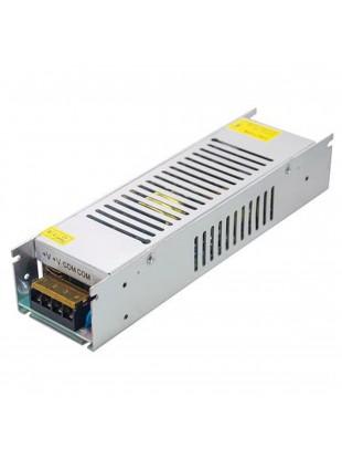Alimentatore Stabilizzato Slim 12V 12,5A 150W Switch per Striscia Led