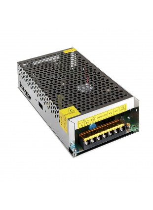 Alimentatore Metallico Stabilizzato Trimmer Vultech 12V 30A 360 Watt CM-30A-MS