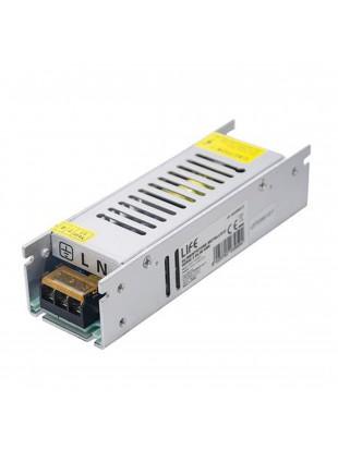 Alimentatore Stabilizzato Slim 12V 5A 60W Switch per Striscia Led