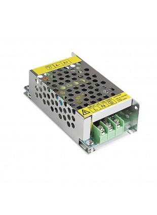 Alimentatore Metallico Stabilizzato Trimmer Vultech 12V 5A 60 Watt CM-05A-MS