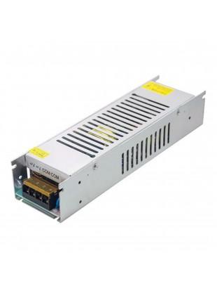 Alimentatore Stabilizzato Slim 24V 6,5A 150W Switch per Striscia Led
