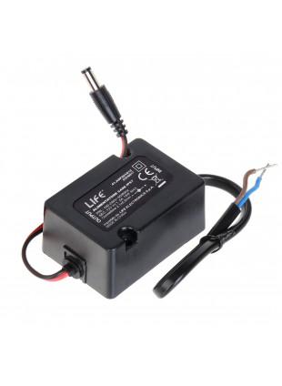Alimentatore 12V 1,5A per Telecamera Videosorveglianza Impermeabile IP67