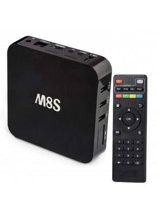 Android TV Box Smart M8S Kodi Quad Core 4K