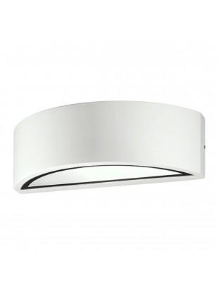 Plafoniera Stagna Applique Da Esterno Doppia Luce E27 Alluminio