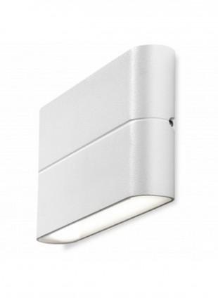 Applique a led biemissione per interni ed esterni luce bianca calda 3000K 527Lm