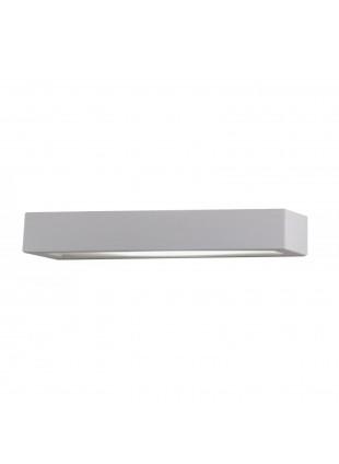 Plafoniera Applique in Gesso da Parete Muro Lampada ISYLUCE 916 Design Bianco